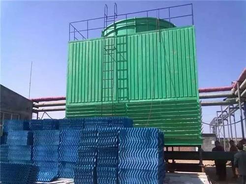 方形逆流式冷却塔3