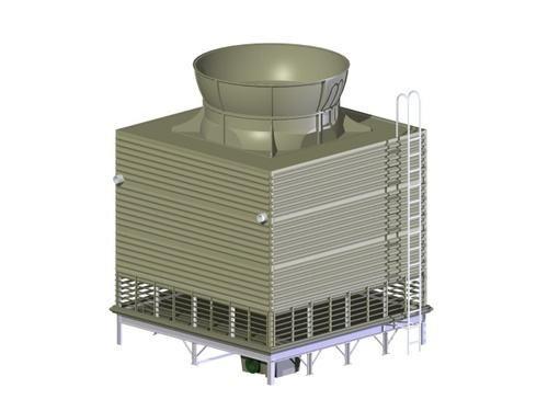 浙江方形逆流式冷却塔13