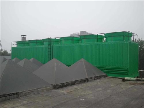 方形工业玻璃钢冷却塔