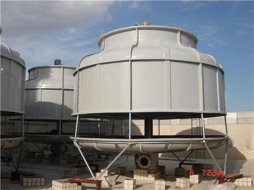 圆形逆流玻璃钢冷却塔